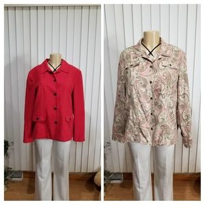 ALFRED DUNNER button shirts